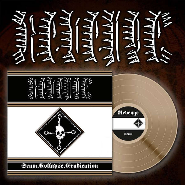 REVENGE - SCUM COLLAPSE ERADICATION LP