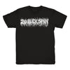 20 BUCK SPIN - DEATH MENTAL LOGO T-SHIRT BLACK