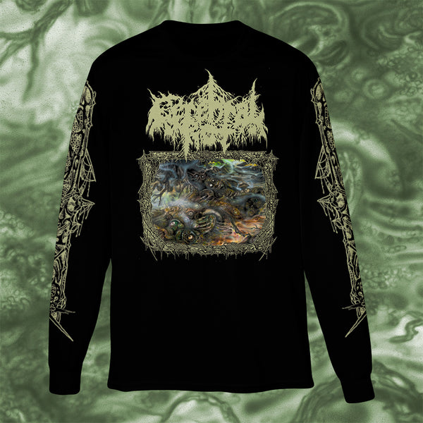 CEREBRAL ROT - ODIOUS DESCENT INTO DECAY LONGSLEEVE