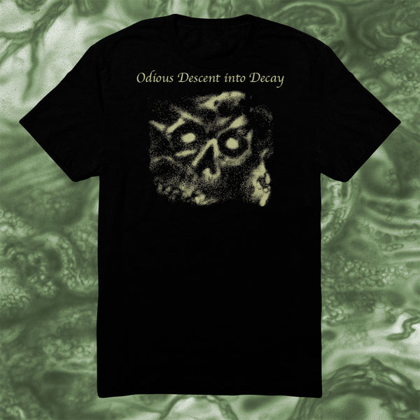 CEREBRAL ROT - ODIOUS DESCENT INTO DECAY T-SHIRT