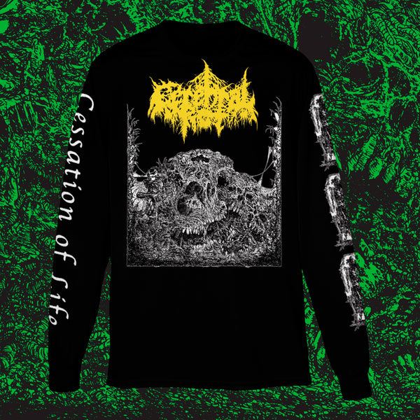 CEREBRAL ROT - CESSATION OF LIFE LONGSLEEVE