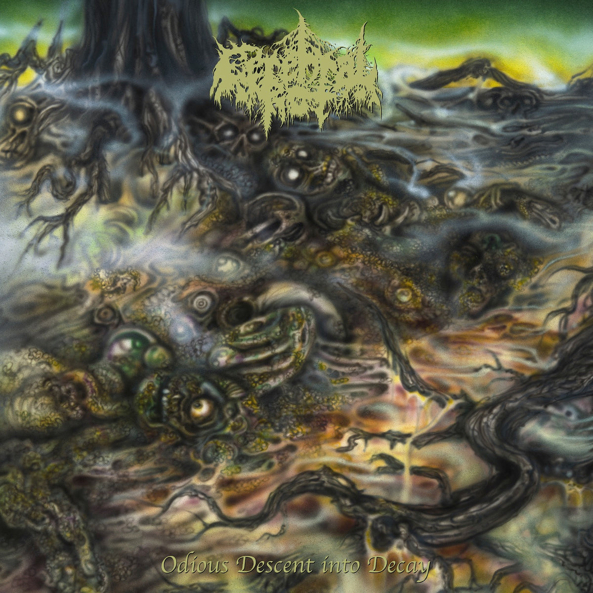 CEREBRAL ROT - ODIOUS DESCENT INTO DECAY LP
