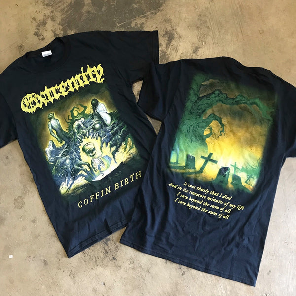 EXTREMITY - COFFIN BIRTH T-SHIRT