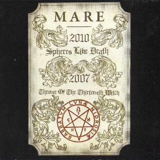 MARE - SPHERES LIKE DEATH & THRONE OF THE THIRTEENTH WITCH LP