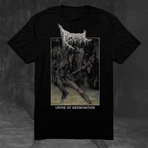 TRIUMVIR FOUL - URINE OF ABOMINATION T-SHIRT