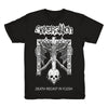 SUPERSTITION - DEATH RECAST IN FLESH T-SHIRT