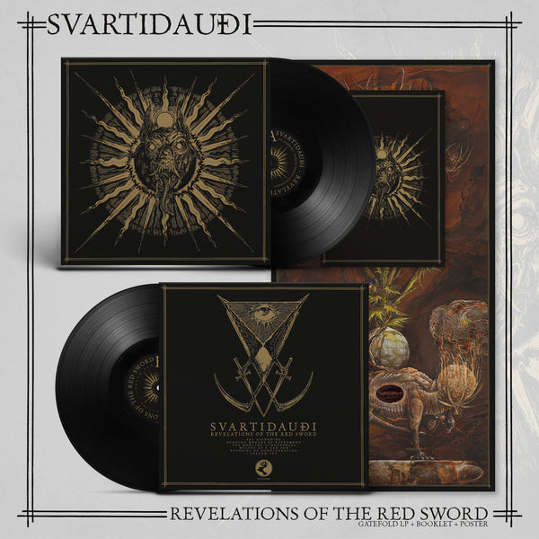 SVARTIDAUDI - REVELATIONS OF THE RED SWORD LP