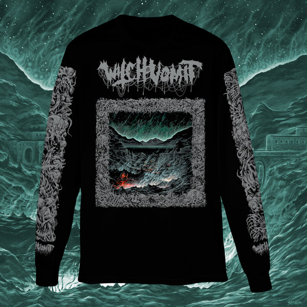 WITCH VOMIT - BURIED DEEP IN A BOTTOMLESS GRAVE LONGSLEEVE