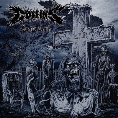 COFFINS - BURIED DEATH (2016 MULTI-VARIANT REPRESS) LP