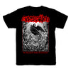SUPERSTITION - THE ANATOMY OF UNHOLY TRANSFORMATION T-SHIRT ***PRE-ORDER***