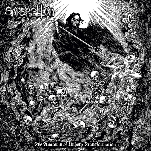 SUPERSTITION - THE ANATOMY OF UNHOLY TRANSFORMATION LP