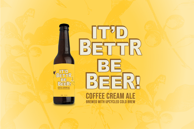 It'd Bettr Be Beer!: Introducing Our Caffeinated Cream Ale