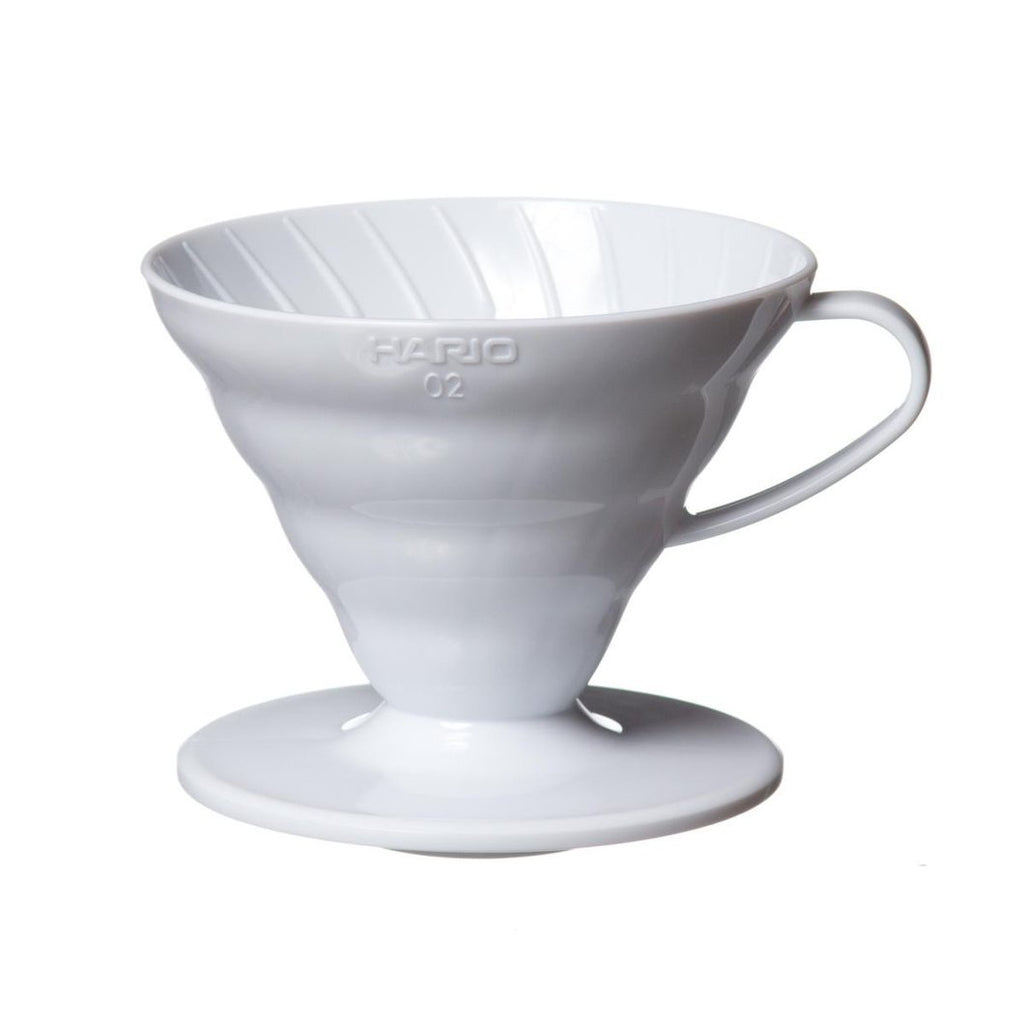 Hario V60 Ceramic Coffee Dripper 01 (White)