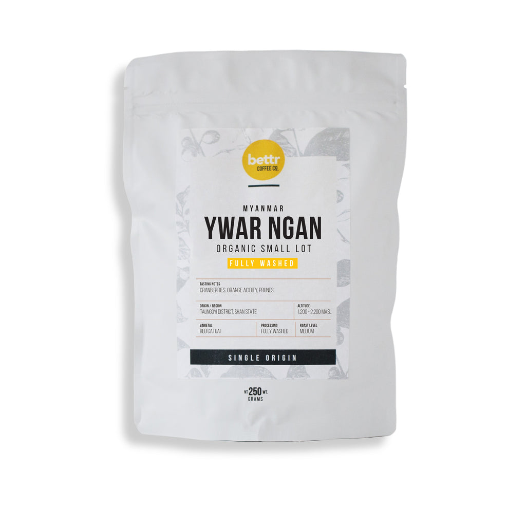 Myanmar Organic Washed - Coffee Beans (250g)