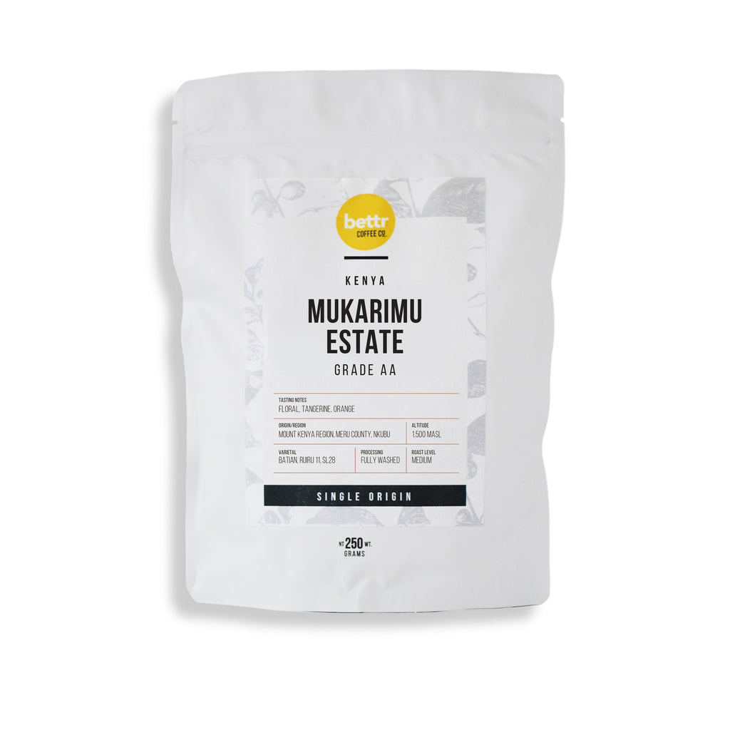 Kenya Mukarimu Estate AA Washed - Coffee Beans (250g)