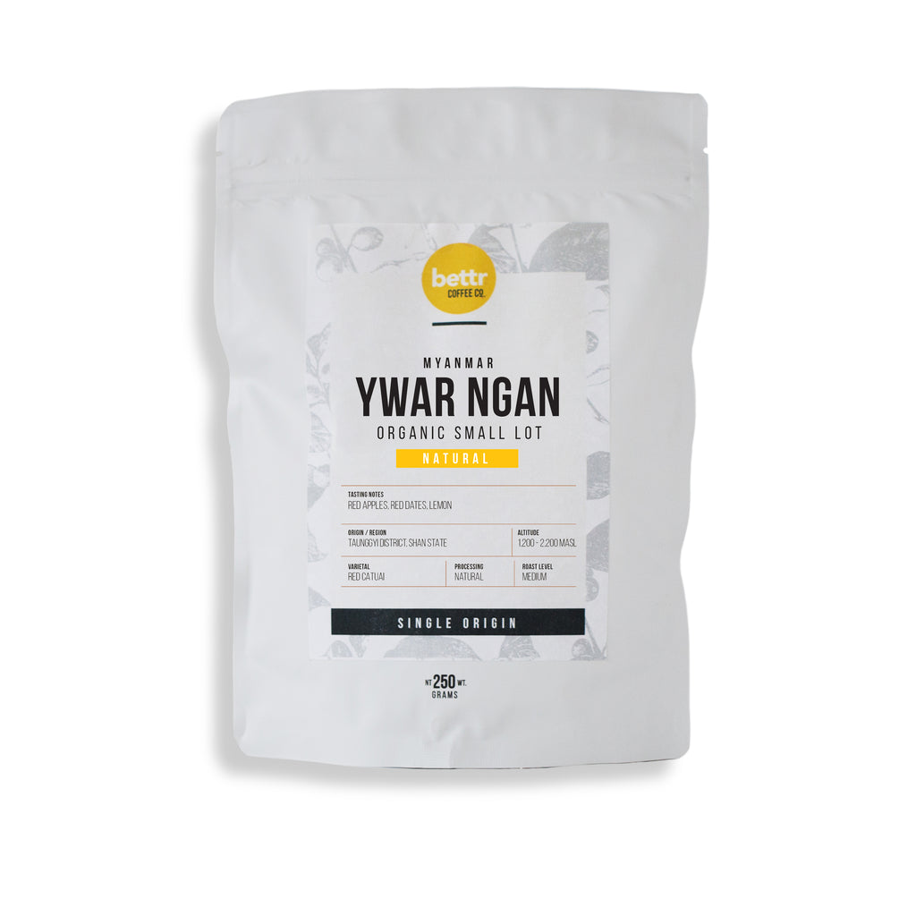 Myanmar Organic Natural - Coffee Beans (250g)