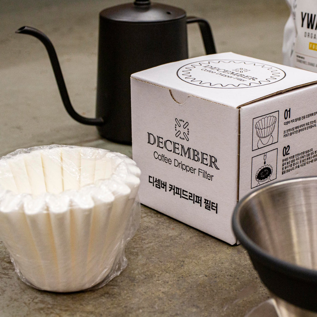 December Coffee Dripper Filters (50 pcs)