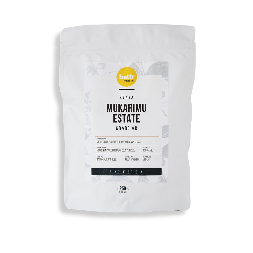 Kenya Mukarimu Estate AB Washed - Coffee Beans (250g)