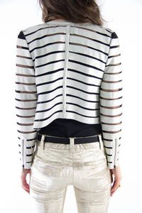 Silver Slice Jacket, Tops - Style Dirty