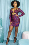 Birthday Slay Triangle Cup Mini Dress