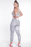 Janet Cheetah Print Two Activewear Set