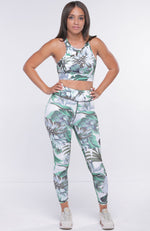 Green Island Two Piece Activewear Set