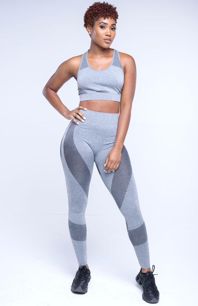 Grey Stay Active Two Piece Pants Set