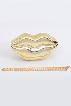 Chrome Kisses Clutch, Accessories - Style Dirty