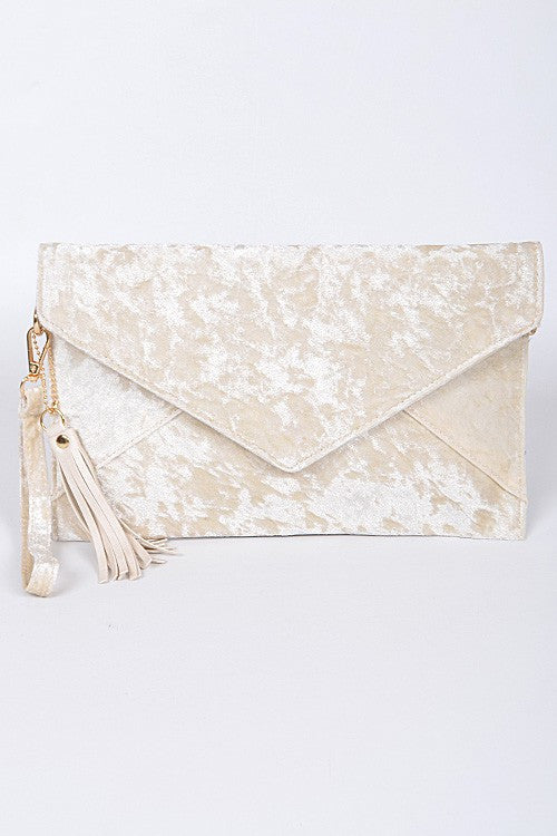Ivory Clutch, Bags - Style Dirty