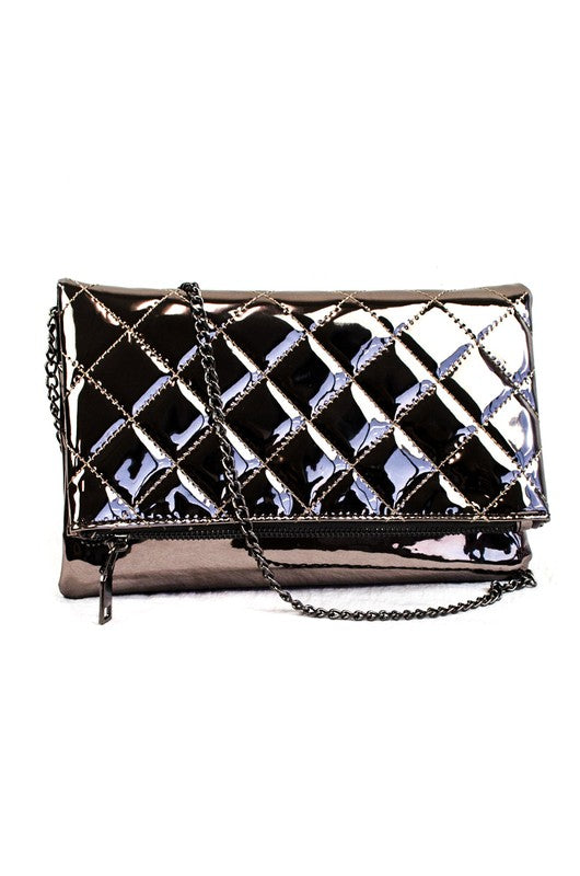Pewter Clutch, Accessories - Style Dirty