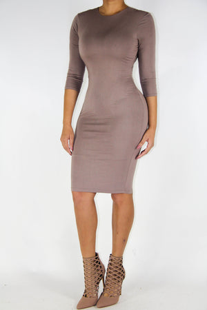 Mocha Dress, Dress - Style Dirty