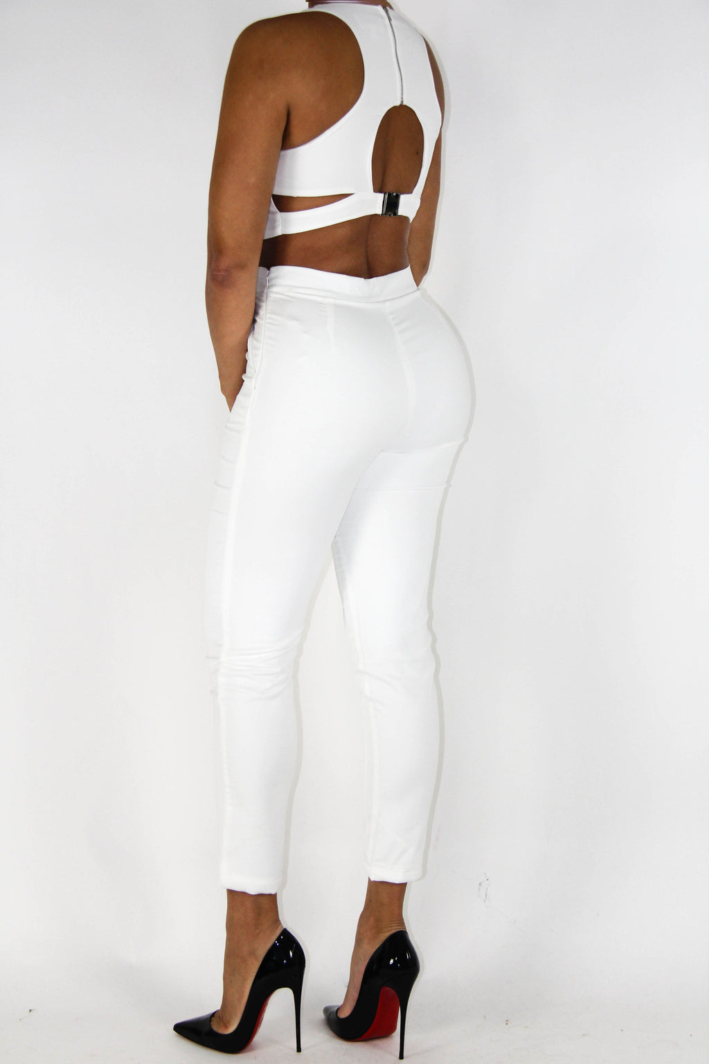 Spring White Outfit, Bottoms - Style Dirty