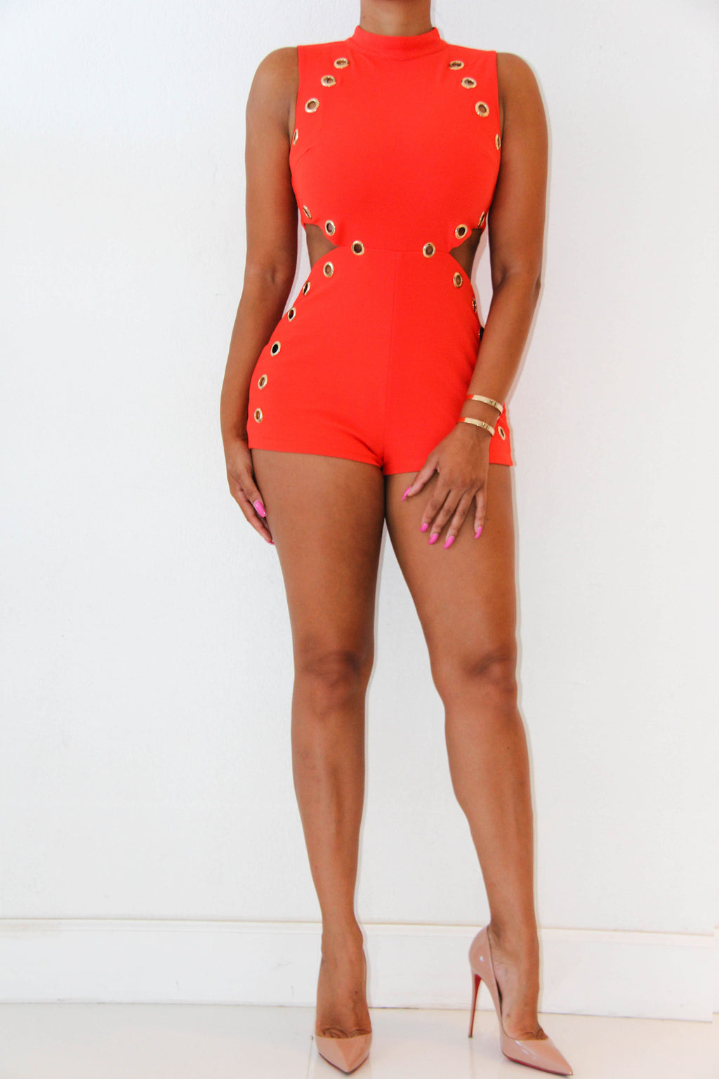Ring The Alarm Romper, Bottoms - Style Dirty