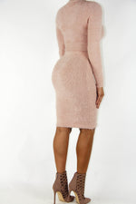 Fuzzy Bunny Dress Set, Dress - Style Dirty