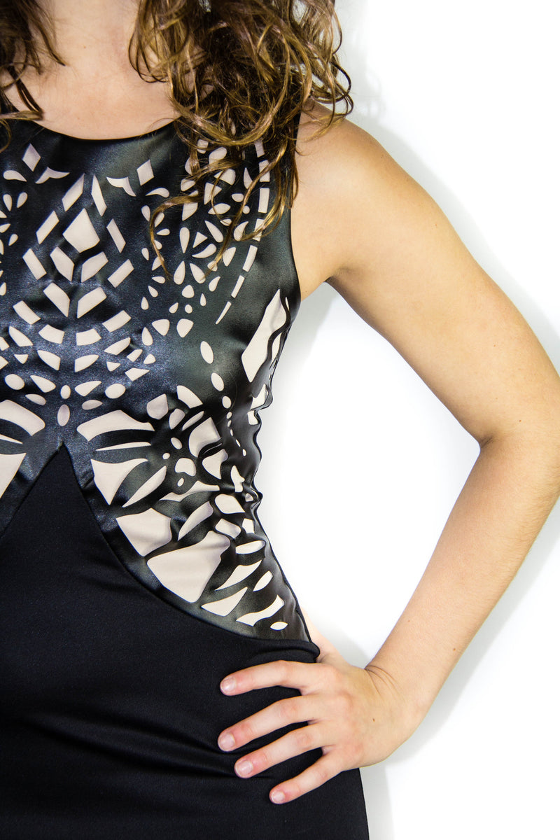Laser Cut Dress, Dress - Style Dirty