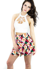Starburst Crop Top, Tops - Style Dirty