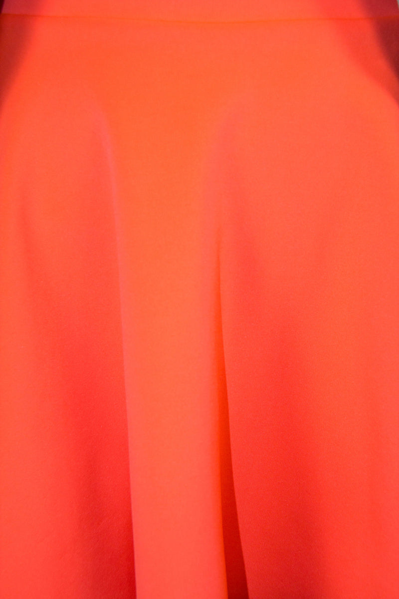Neon Coral Skirt, Bottoms - Style Dirty