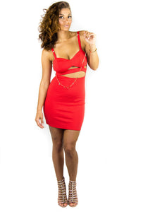 Flame Cutout Dress, Dress - Style Dirty