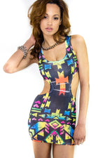 Electric Cutout Dress, Dress - Style Dirty