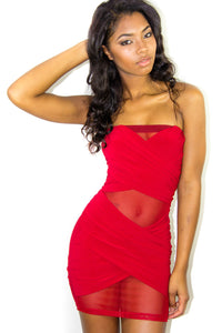 Red Hot Dress, Dress - Style Dirty