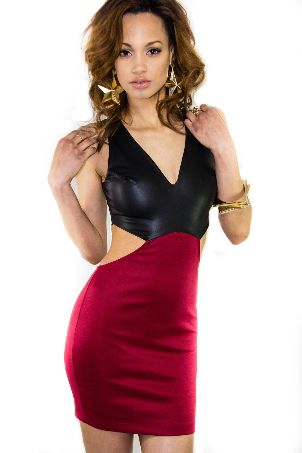 Vamp Cutout Dress, Dress - Style Dirty