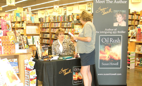 Author Susan Howell and Fort Worth history buff Nicki