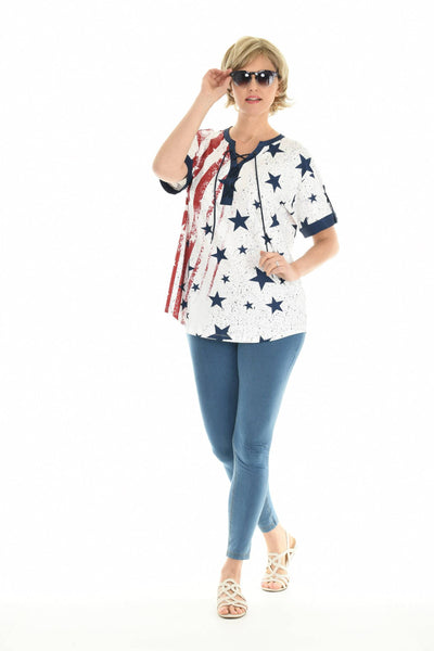 Americana Stars and Stripes Top
