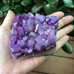 Amethyst Wax Crystal Candle