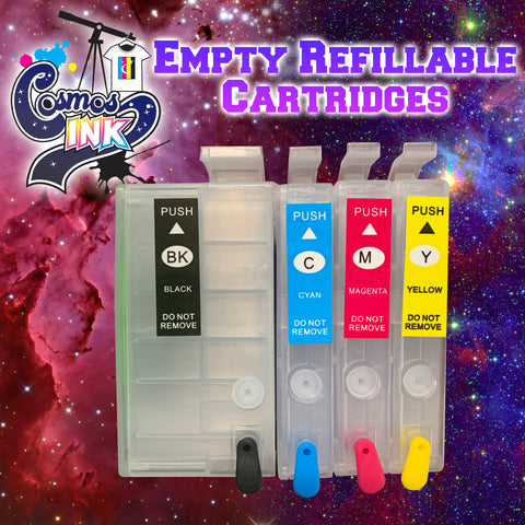 Empty Refillable Cartridges