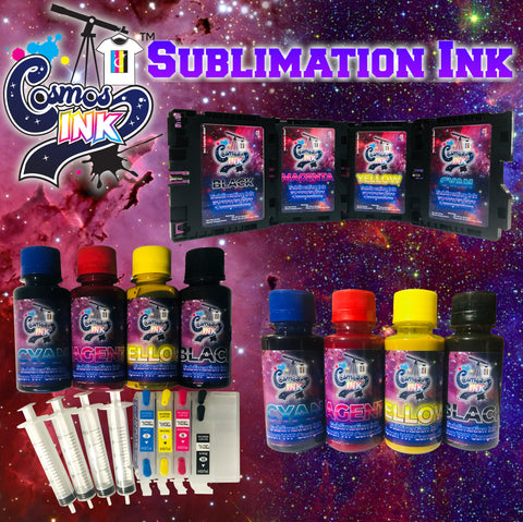 Sublimation Ink for Epson and Sawgrass Printers