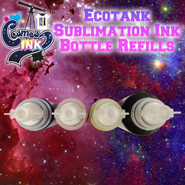 Epson EcoTank Sublimation Ink Refill Set (Keyless Bottles) (4 Color