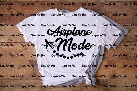 Airplane Mode (DIGITAL DESIGN DOWNLOAD) - Cosmos Ink
