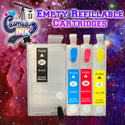 Empty Refillable Cartridges for Epson WF-7710, 7720, 7610, 7620, 7110, 7210, 3640, 3620 T252 (All Four Colors) | Cosmos Ink®