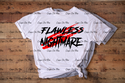 Flawless Nightmare (DIGITAL DESIGN DOWNLOAD) - Cosmos Ink